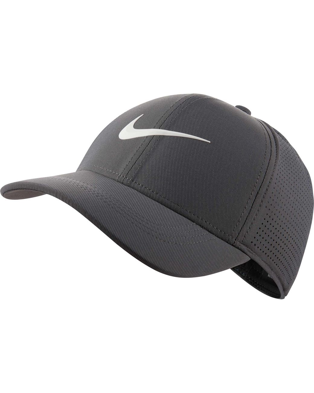 f779fd03fc4eb Nike 2018 Aerobill Legacy91 Perforated Golf Hat in Gray for Men - Lyst