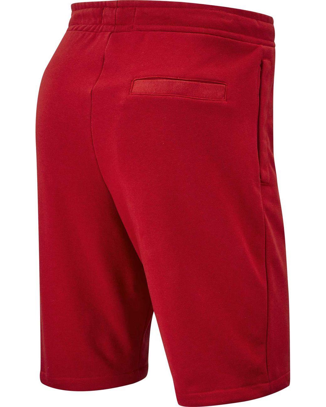 689bdff2e38f Lyst - Nike Jordan Jumpman Air Fleece Shorts in Red for Men