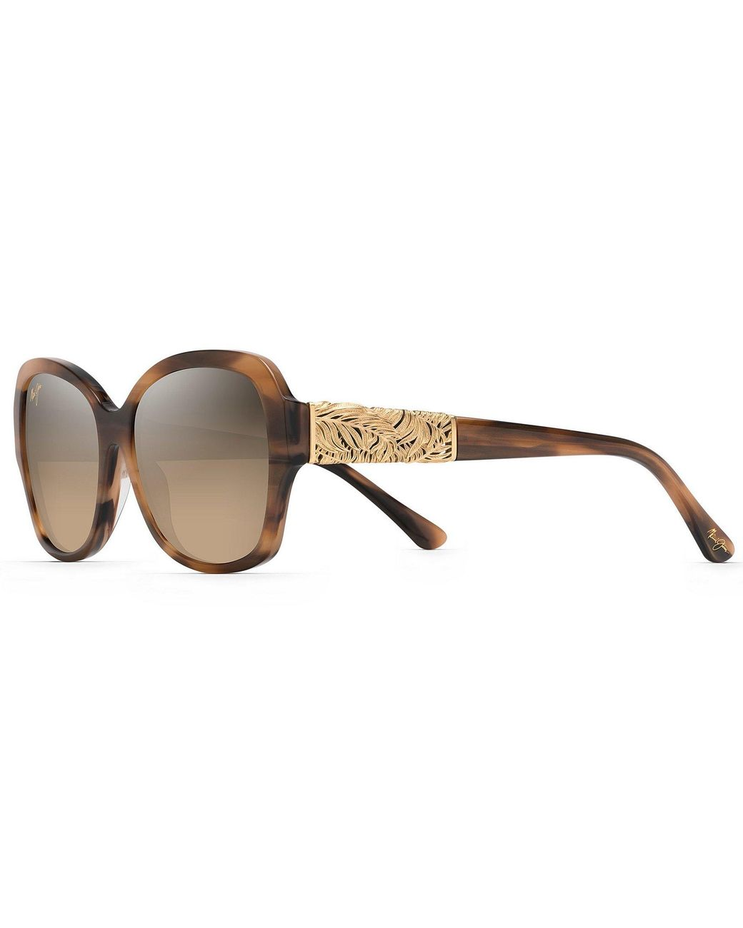 8be94c6519bb Lyst - Maui Jim Swaying Palms Polarized Fashion Sunglasses in Brown