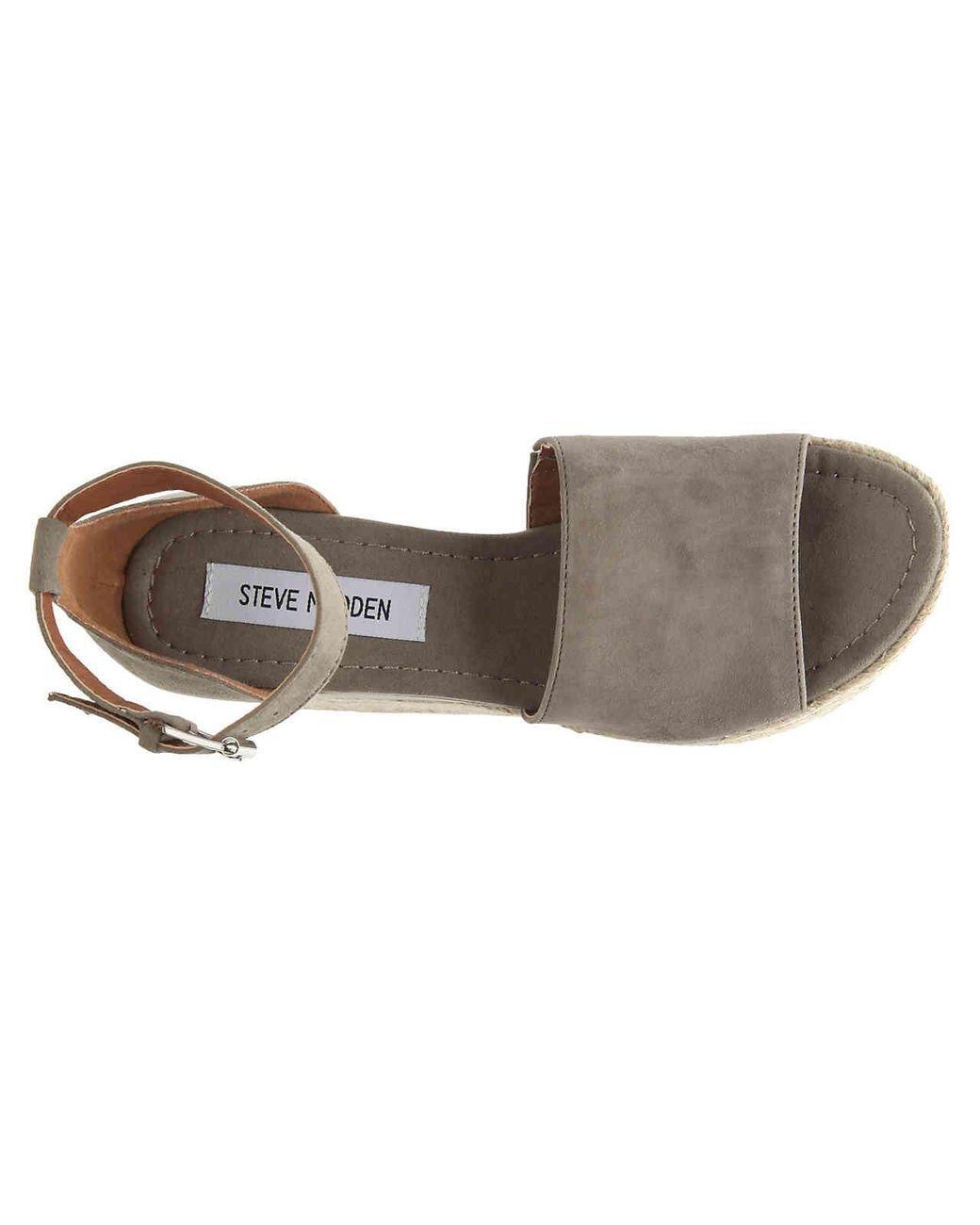 2bacd99cbd3 Lyst - Steve Madden Apolo Espadrille Wedge Sandal