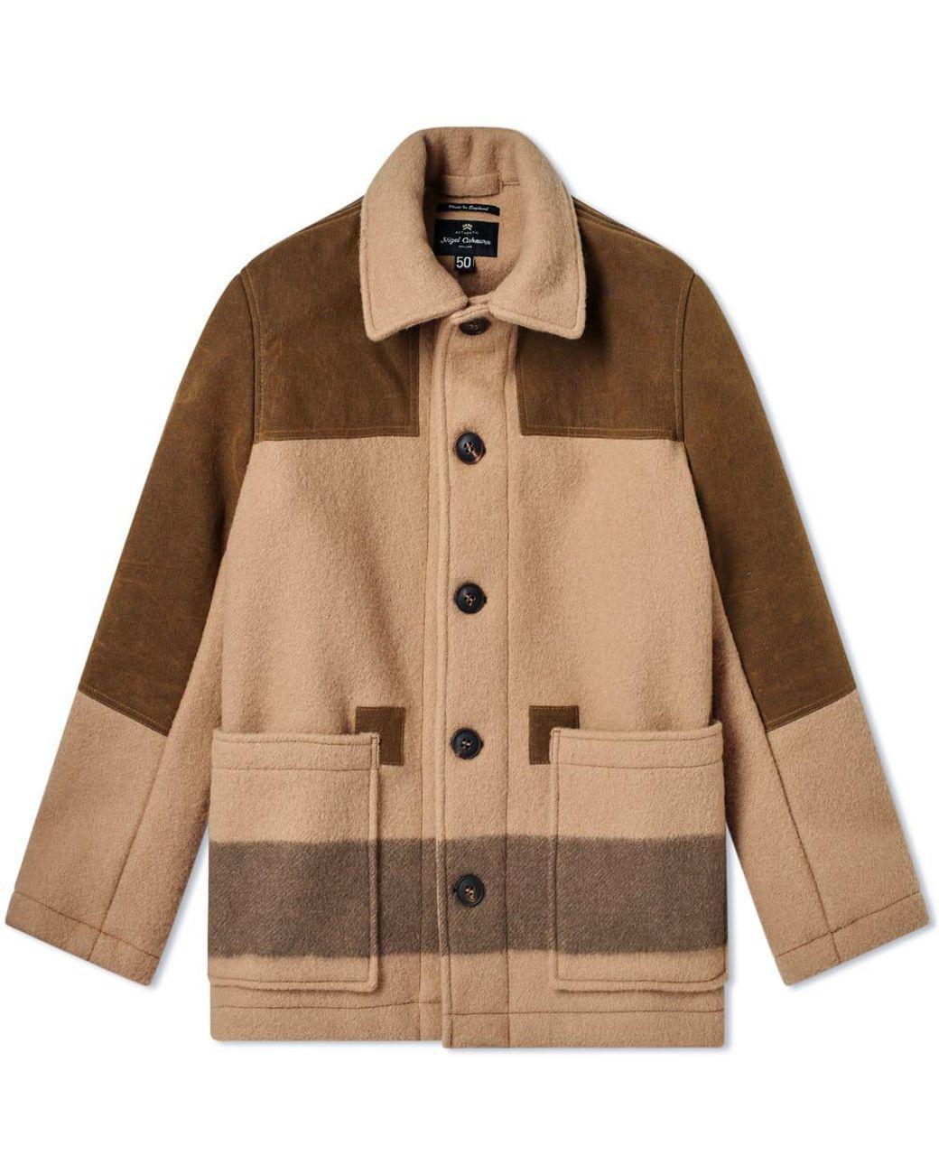 d1b464b6adba Lyst - Nigel Cabourn Donkey Jacket in Brown for Men
