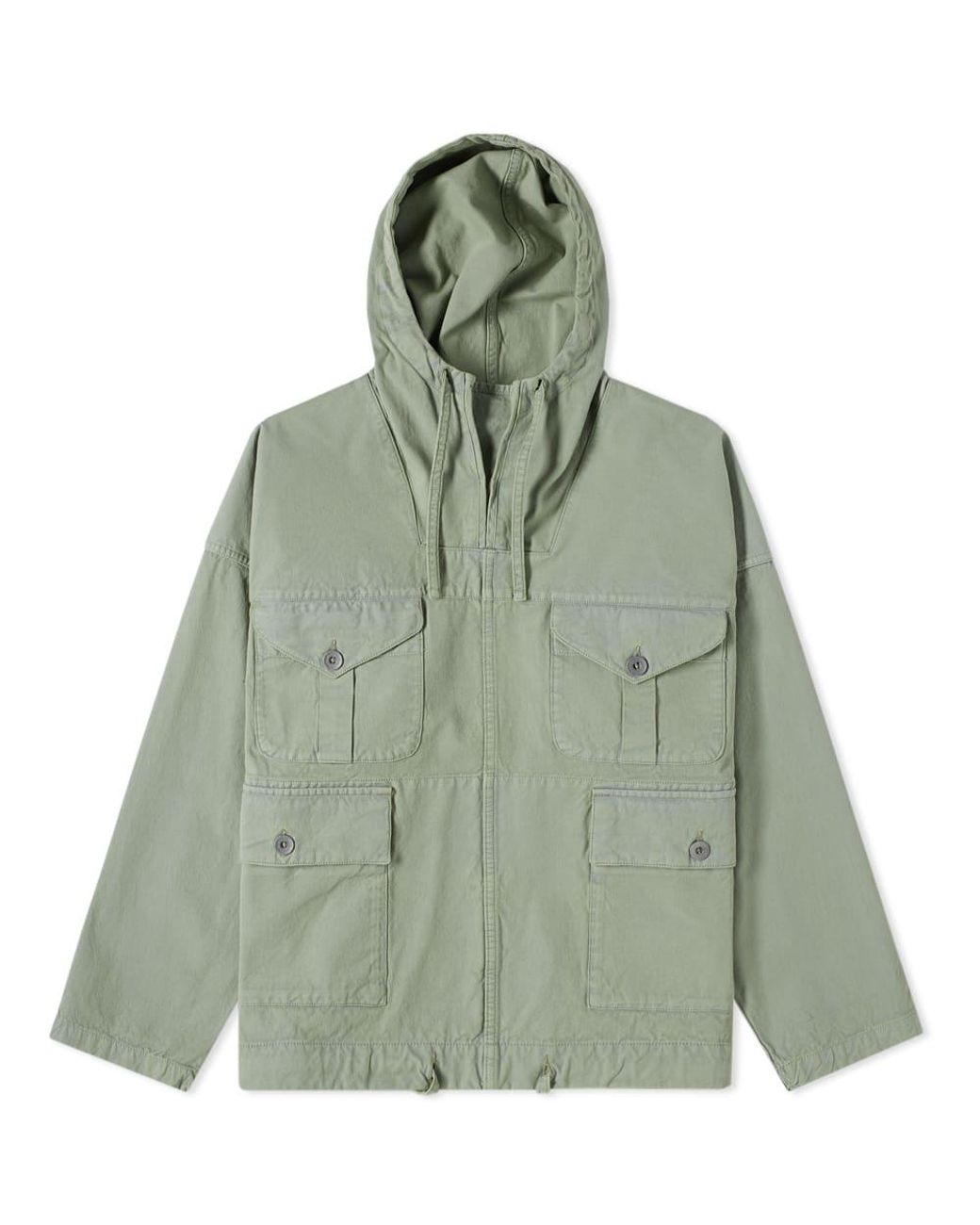 635a3b7deef5 Nigel Cabourn End. X British Army Smock in Green for Men - Lyst
