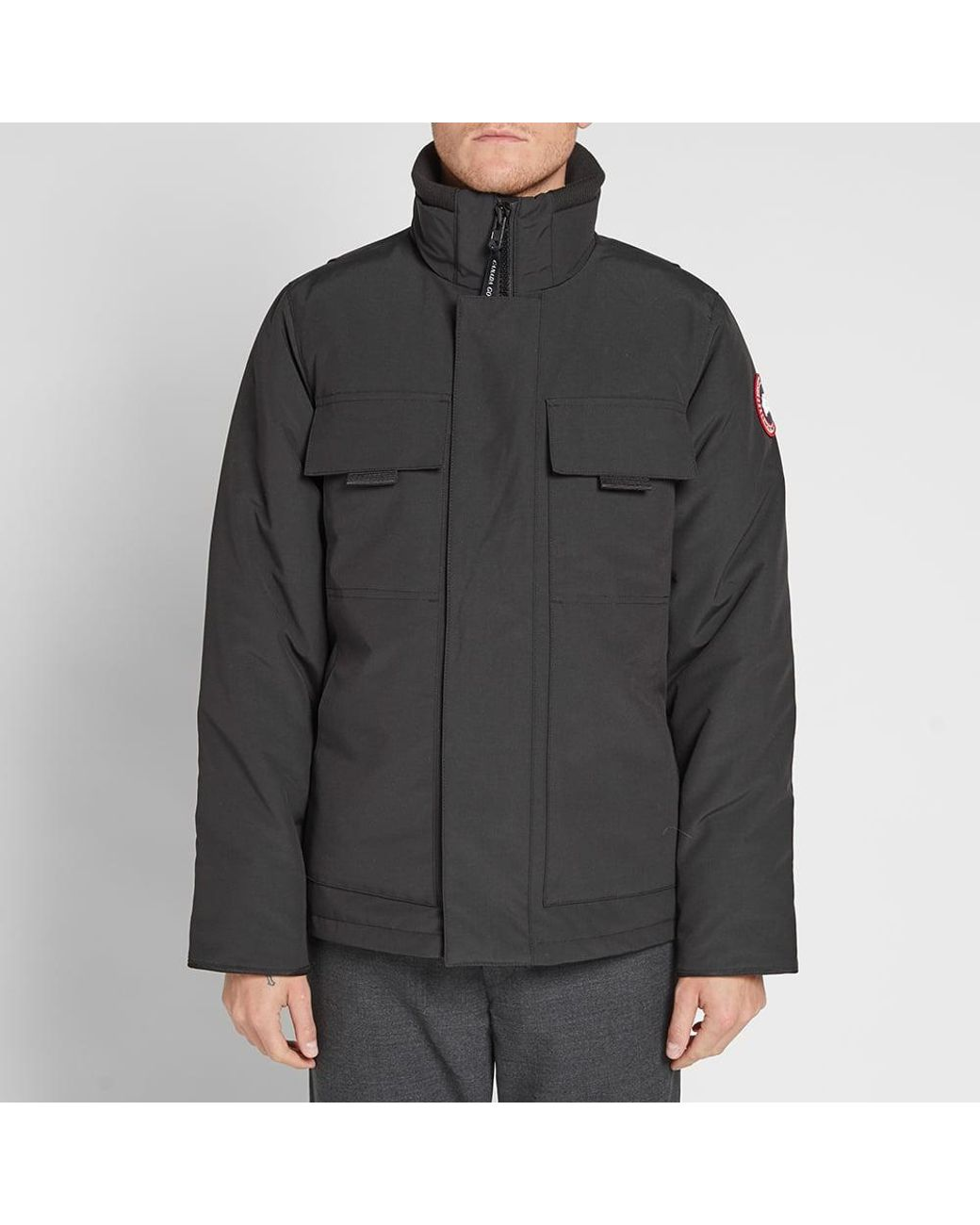 ce17bc518255e Canada Goose Forester Jacket in Black for Men - Lyst