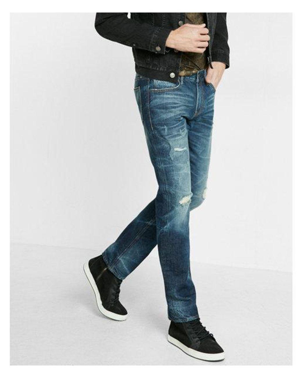 Dark jeans mens fashion 75