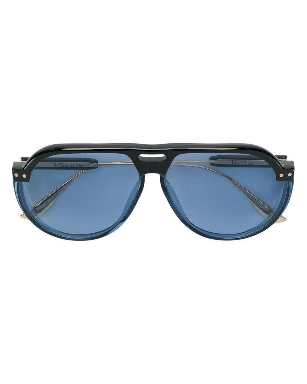 7411a2790886 Dior Dior Club 3 Sunglasses in Blue - Lyst