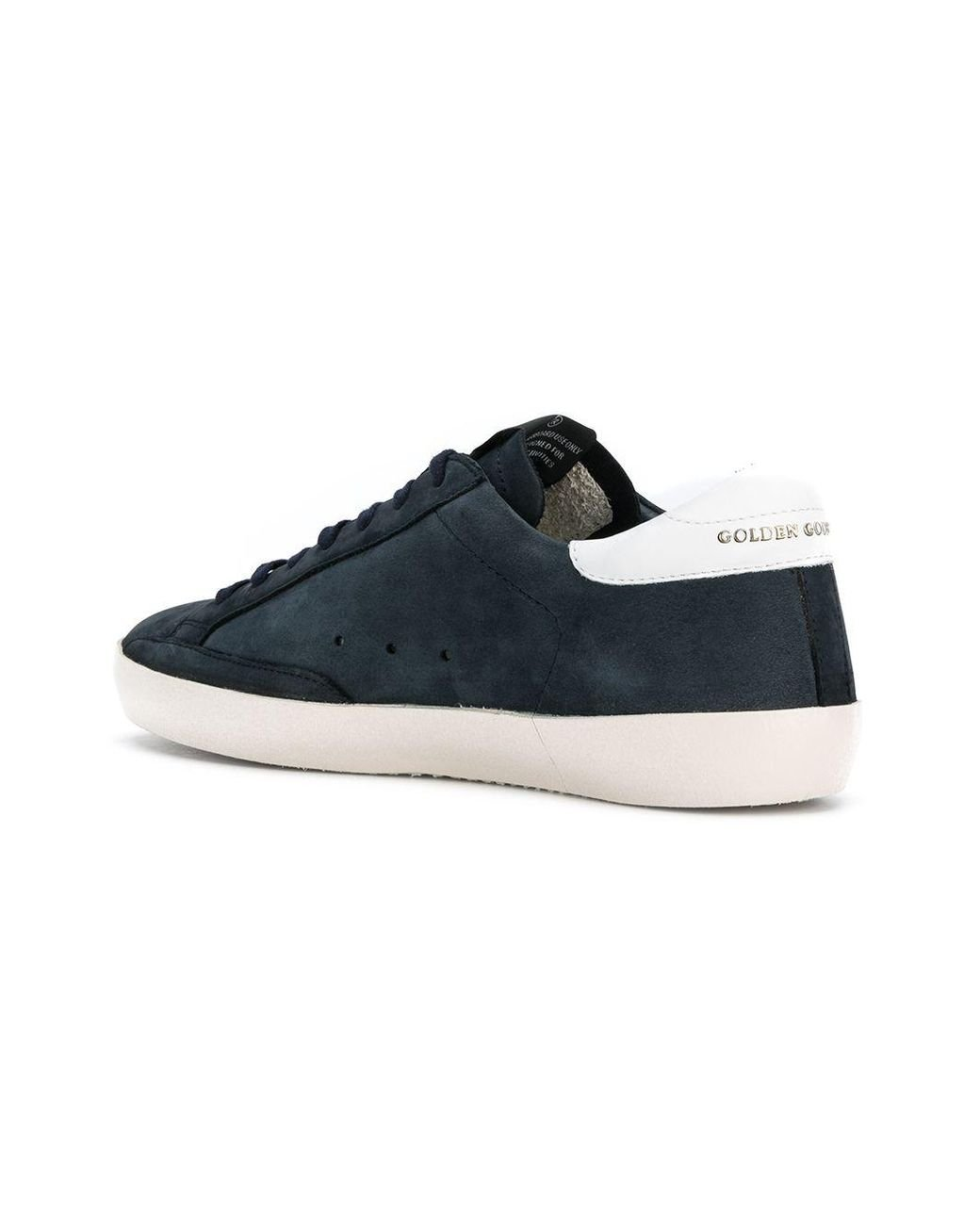 c3dddefa310 golden goose deluxe brand men s blue star lace up trainers