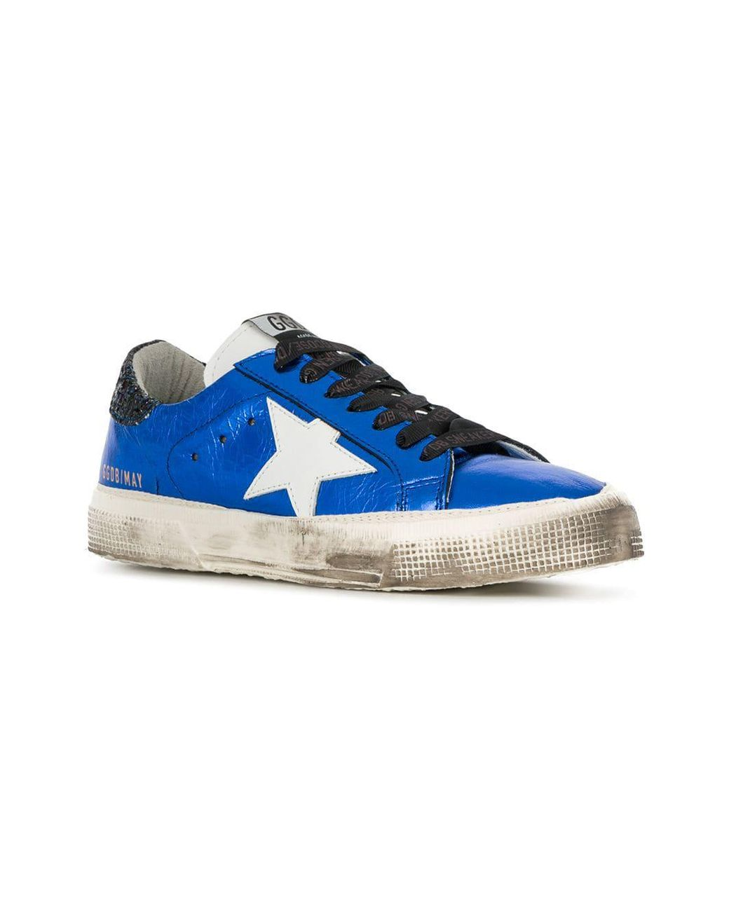 0262fcb84b0f golden goose deluxe brand women s blue may trainers