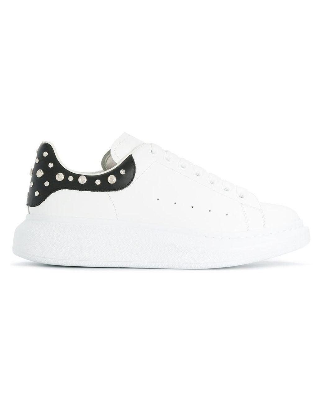 Alexander McQueen Sneakers Mit Nieten Farfetch
