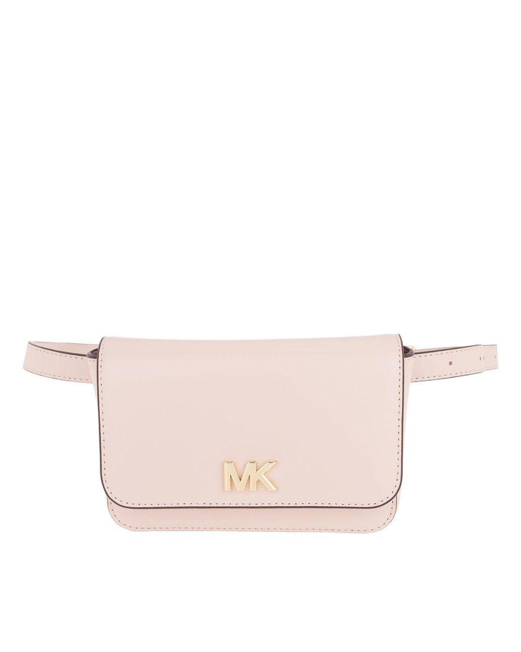 87d2352e3fd2 Michael Kors Mott Belt Bag Soft Pink in Pink - Lyst