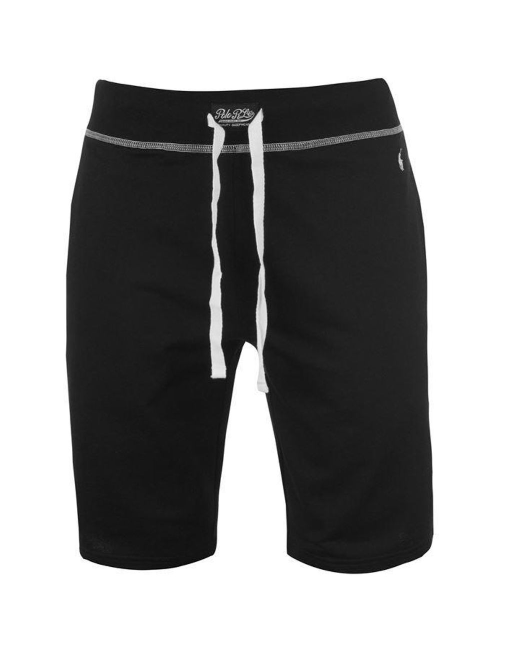 144616c0 Polo Ralph Lauren Polo Mens Jersey Contrast Shorts in Black for Men - Lyst