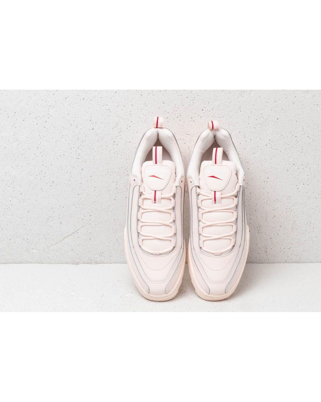 f5927692348 Reebok Reebok Rivyx Ripple Pale Pink/ White/ Red in Pink - Lyst