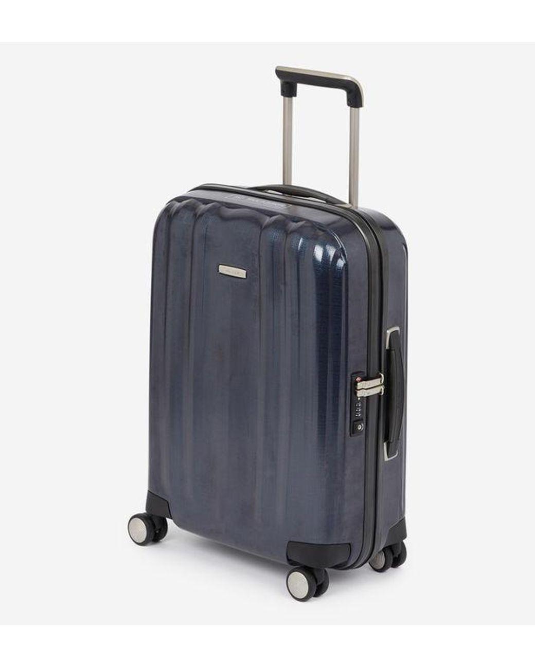 7ed2bd651e Valise rigide cabine Spinner Llte Cube 4R 55 cm Samsonite pour homme en  coloris Bleu - Lyst