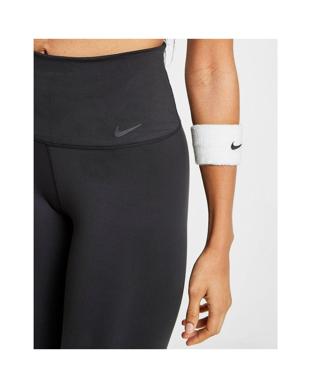 7ee24fd4e493b Nike Training Studio Flare Tights in Black - Save 2% - Lyst
