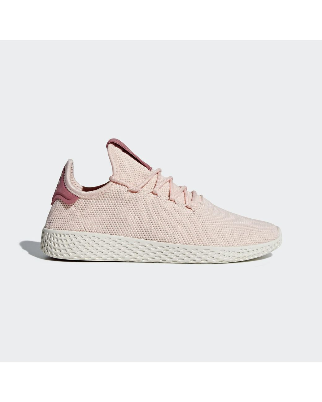 29d740e8e546c Lyst - adidas Pharrell Williams Tennis Hu Sneaker in Pink - Save 29%