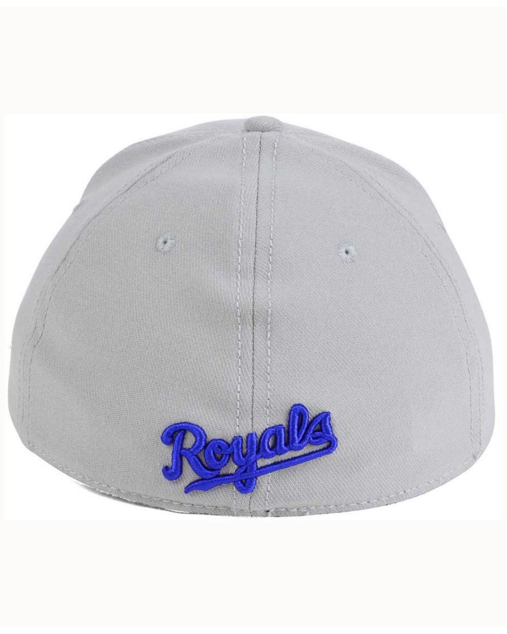 new style f224b f14b6 KTZ Kansas City Royals Coop 39thirty Cap in Gray for Men - Lyst