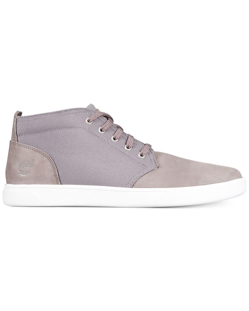 c304e6a40295d Timberland Men's Groveton Chukka Sneakers in Gray for Men - Lyst
