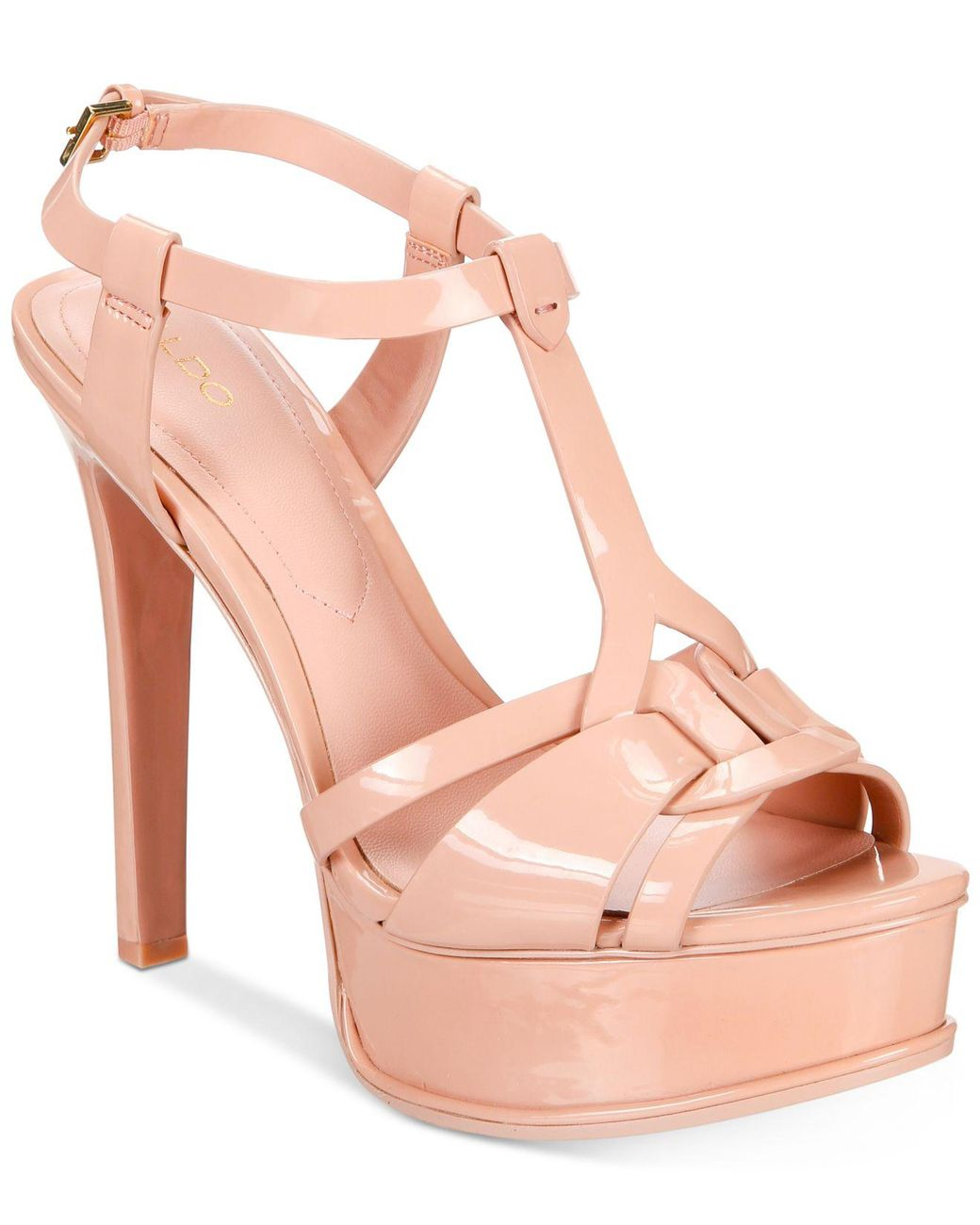 4c139b3dbb4 Lyst - ALDO Chelly Platform Dress Sandals in Pink - Save 52%