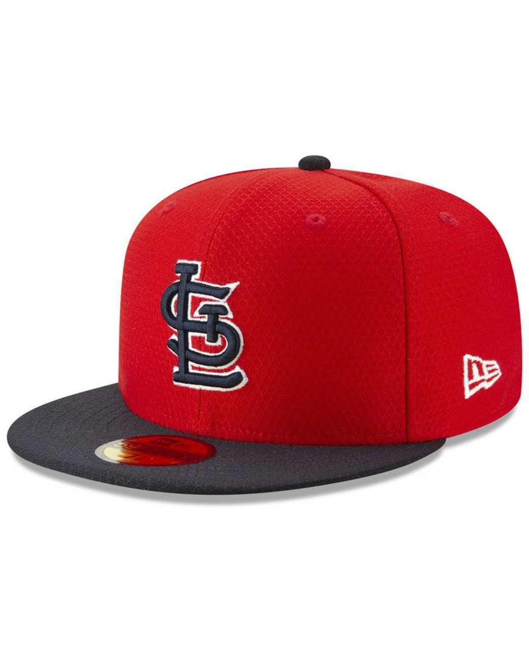 the latest e5f4a 63770 KTZ. Men s Red St. Louis Cardinals Batting Practice 59fifty-fitted Cap