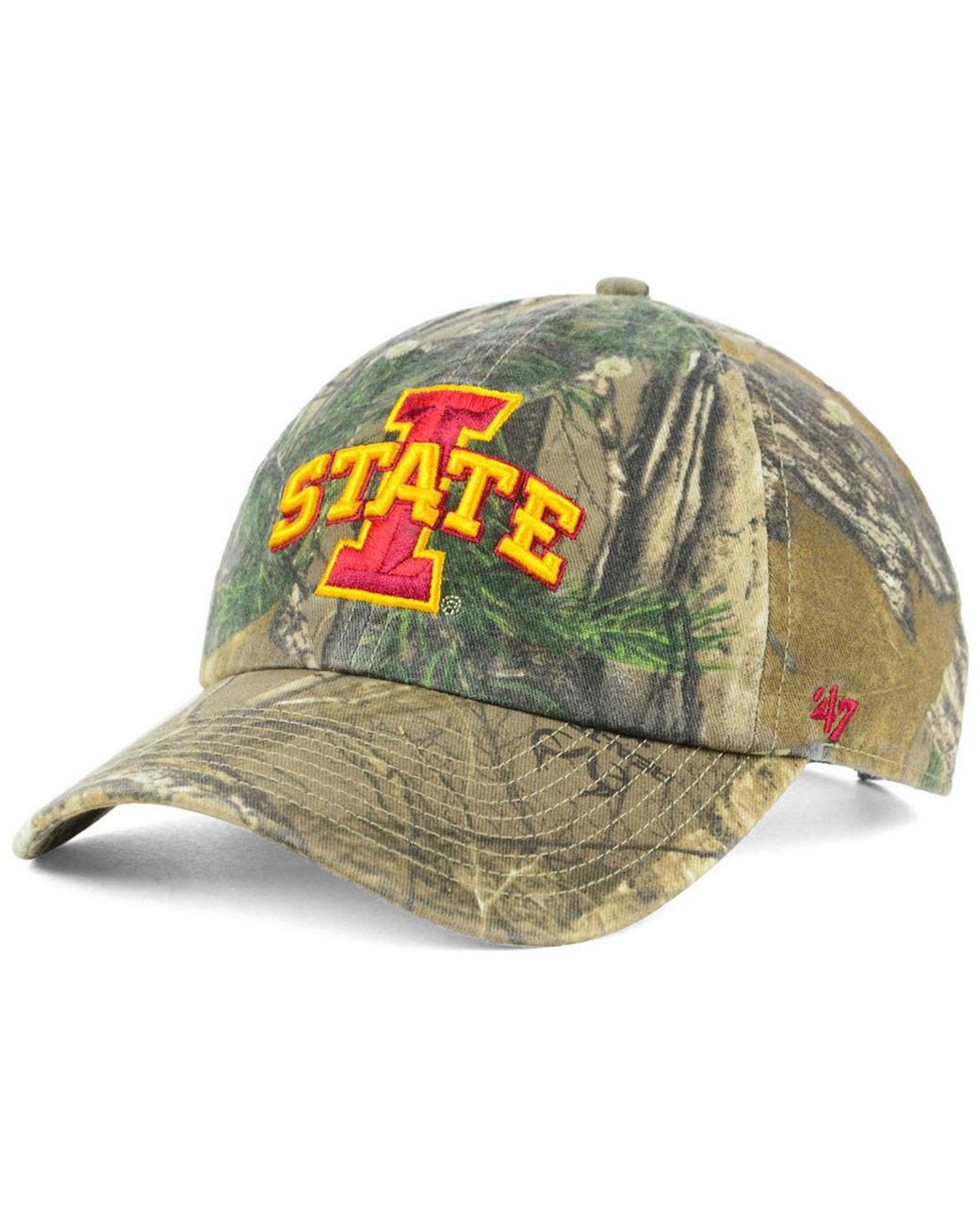 best authentic a4503 f3cf6 47 Brand. Men s Iowa State Cyclones Real Tree Clean Up Cap