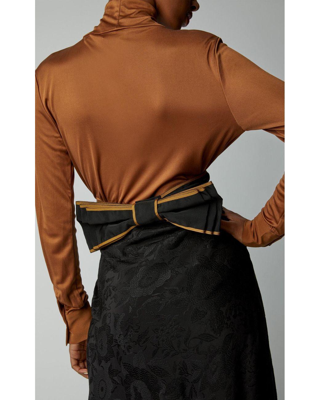 e84190e4b Etro Cintura Donna Asta Tessuto Cotton-blend Belt in Black - Lyst
