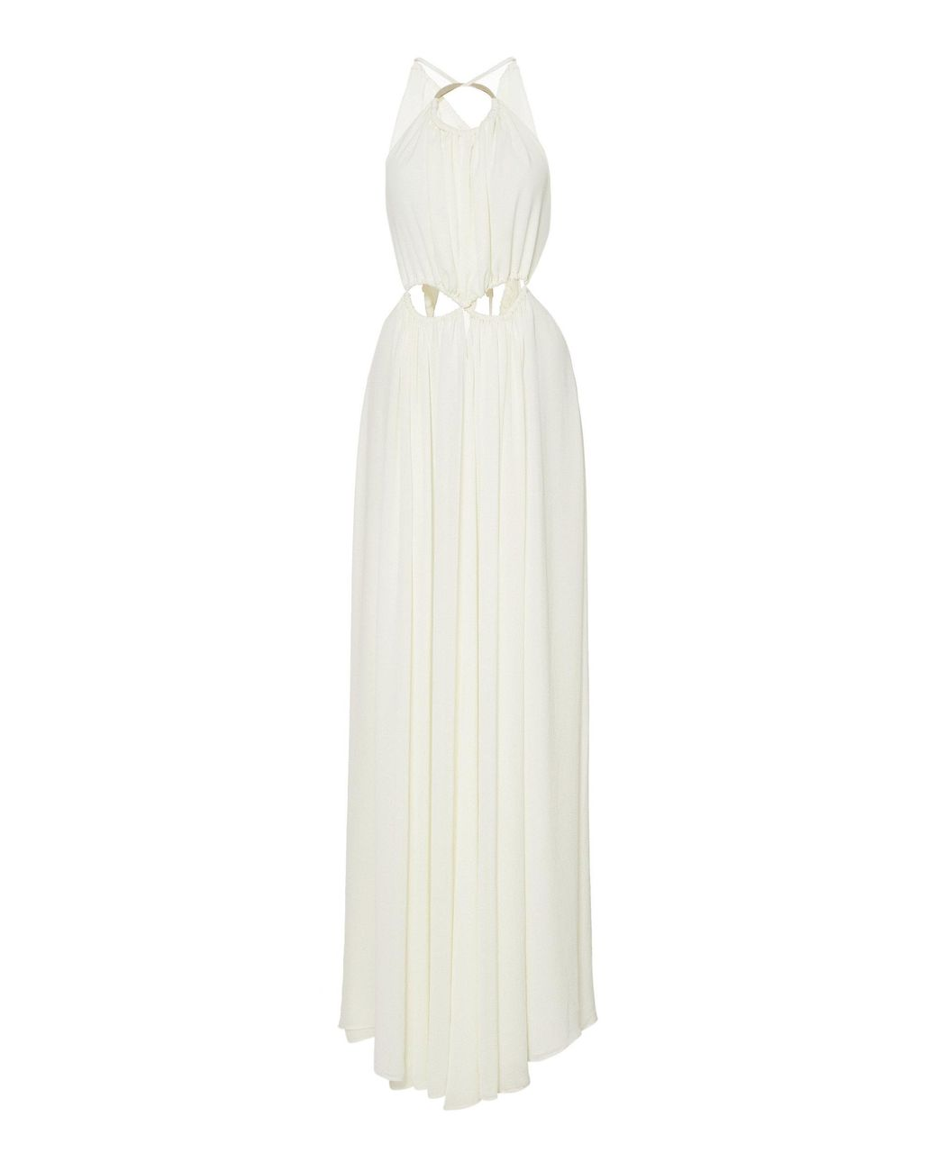 81d8df9fbd1f Cult Gaia Aphrodite Halter Maxi Dress in White - Save 48% - Lyst