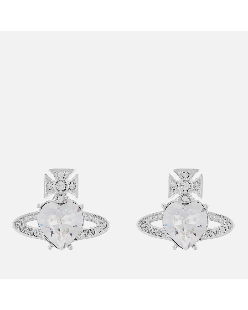 329ef3761 Vivienne Westwood Ariella Earrings in Metallic - Lyst