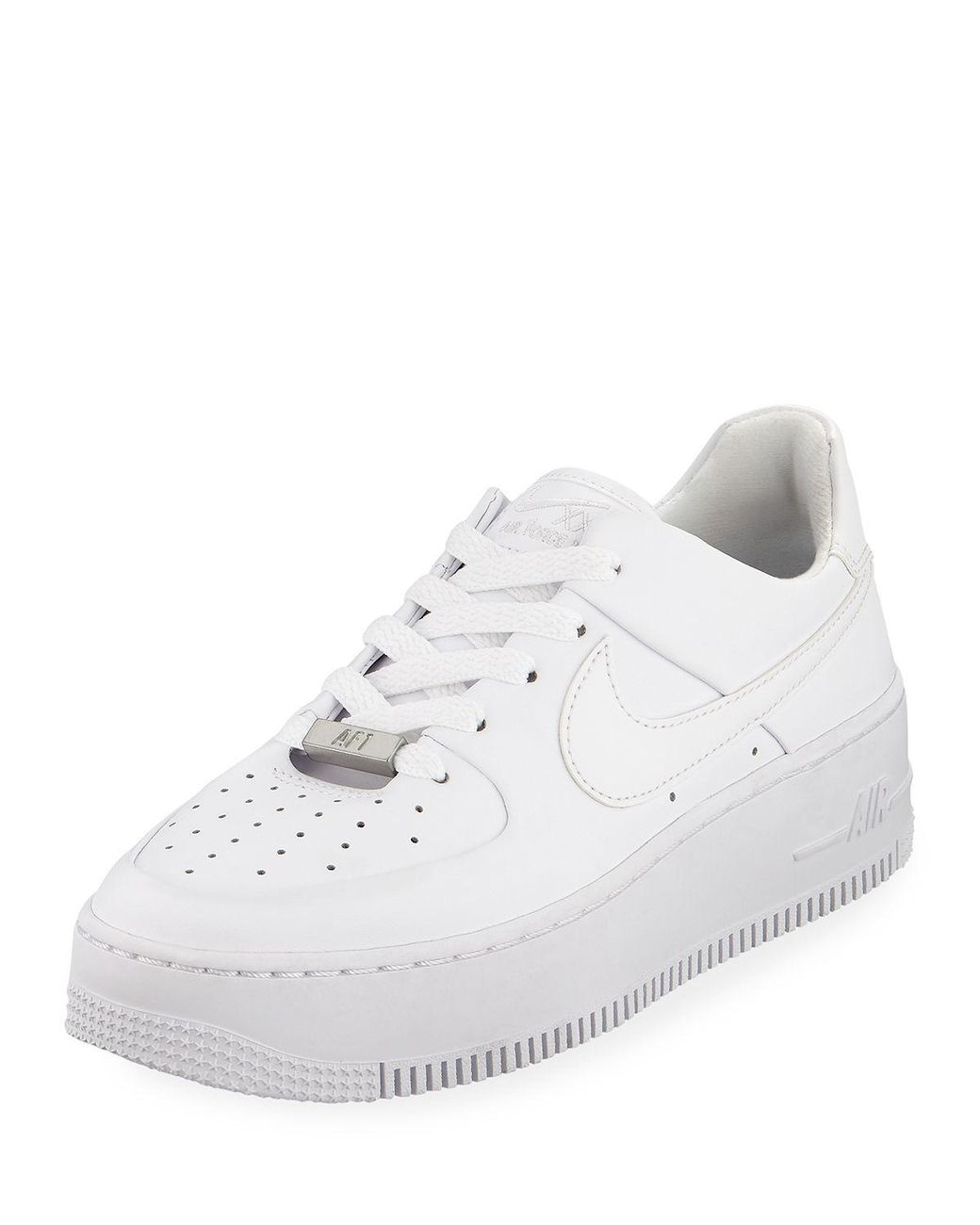Women's White Air Force 1 Sage Low top Sneakers