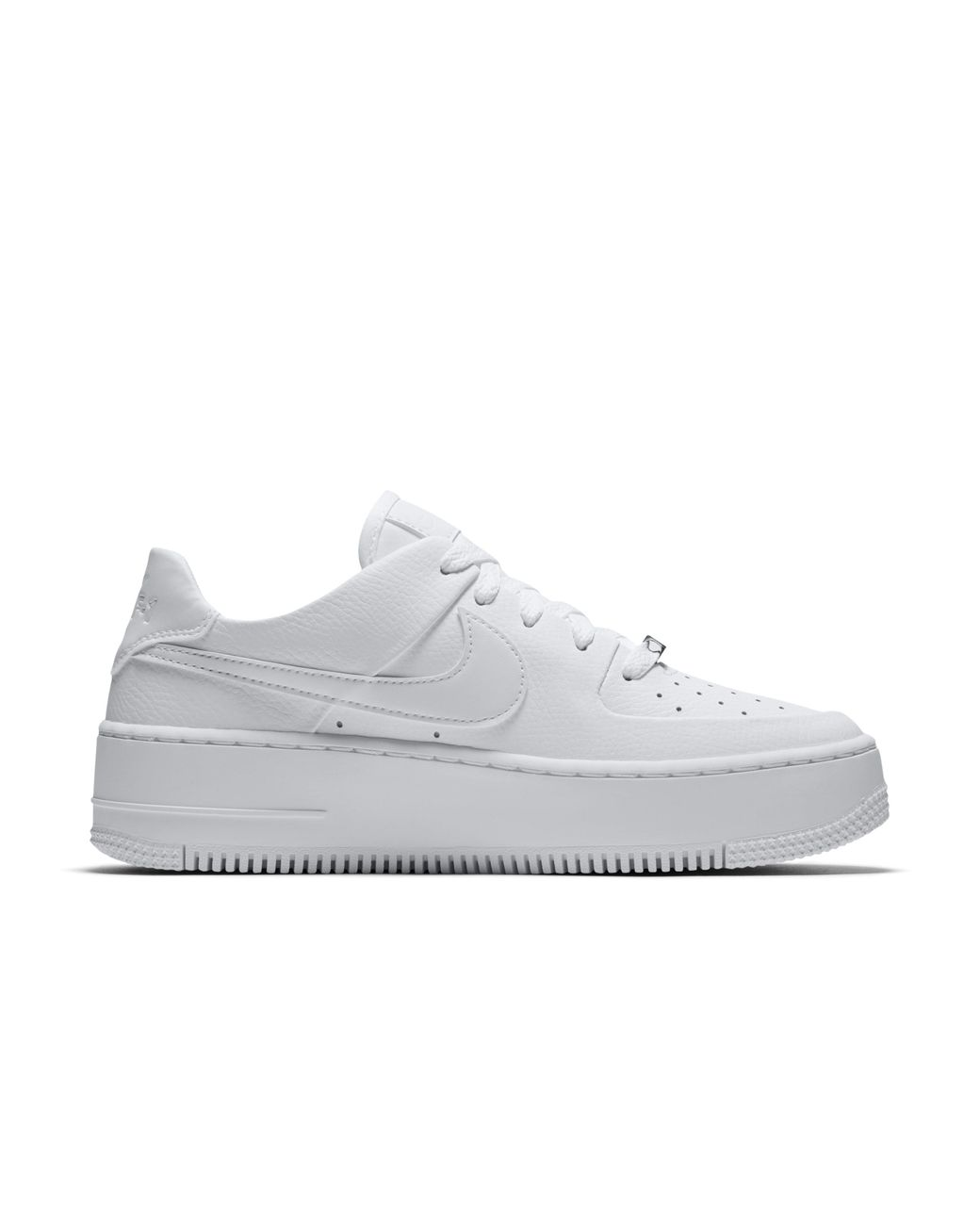 e354fc287813 Nike Air Force 1 Sage Low Shoe in White - Lyst