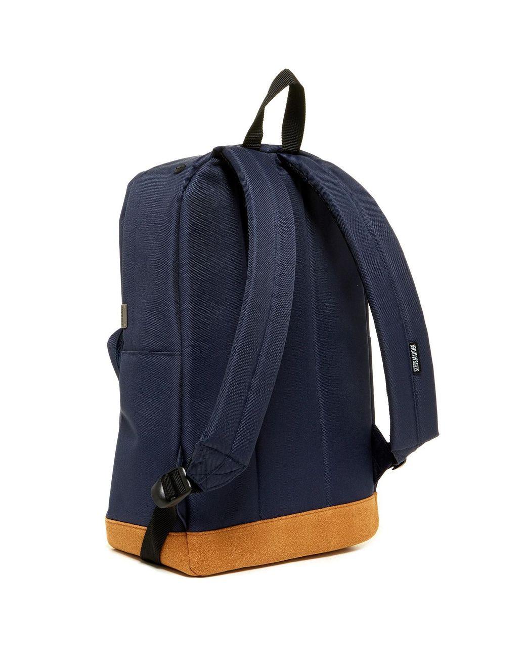 689894e709 Steve Madden Solid Classic Sport Backpack in Blue for Men - Lyst