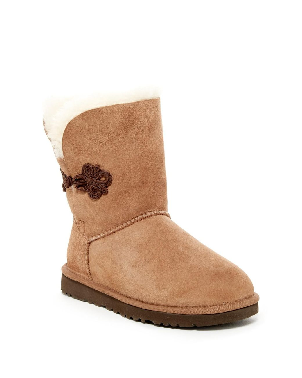 2673afc2191 UGG Bailey Mariko Genuine Shearling & Pure(tm) Lined Boot in Brown ...
