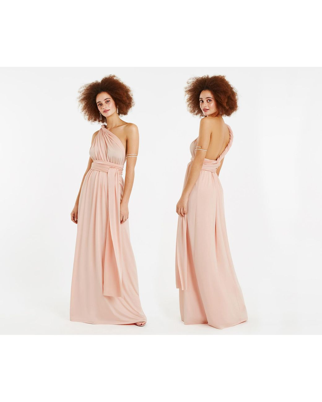 ad1875a4f9a8 Oasis Annie Multiway Maxi Dress* in Pink - Lyst