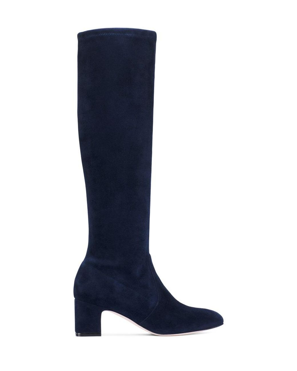 7755e8472c Stuart Weitzman The Milla 60 Boot in Blue - Lyst