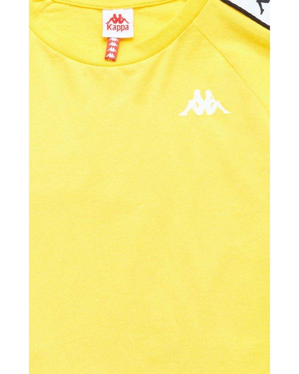 1783f5ae2f9 Lyst - Kappa Banda Cohen Slim T-shirt in Yellow for Men