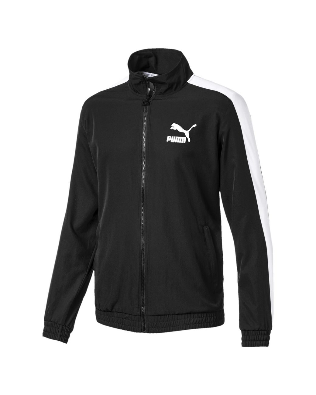 5aac77337450 Lyst - PUMA Iconic T7 Track Jacket in Black for Men - Save 64%