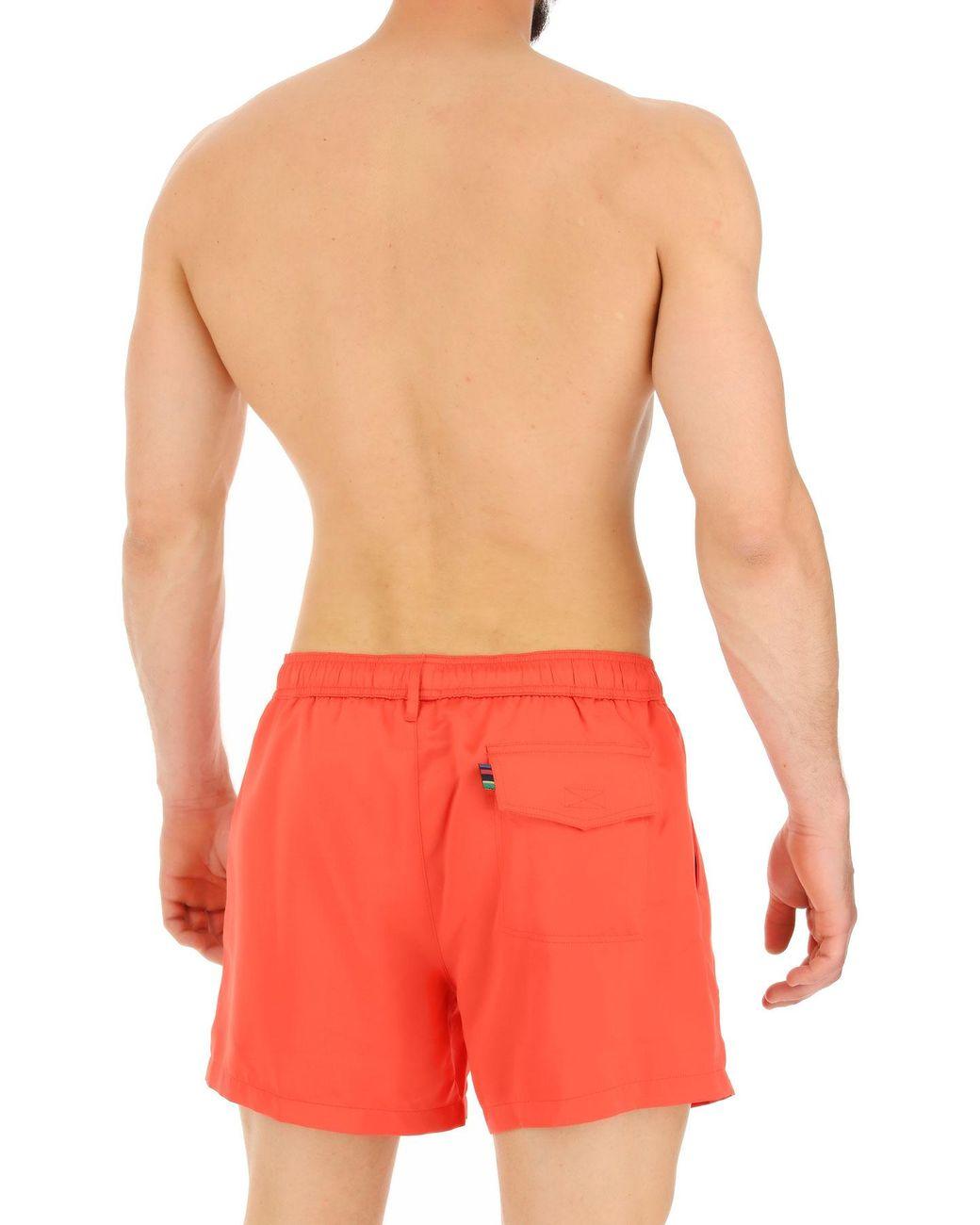 en hombre Lyst Smith baño para de Shorts rojo de color Paul 8OvnwN0m