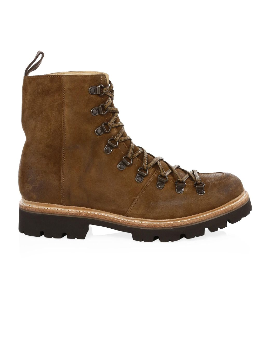 22edccdb959 Men's Suede Hiking Boots - Brown