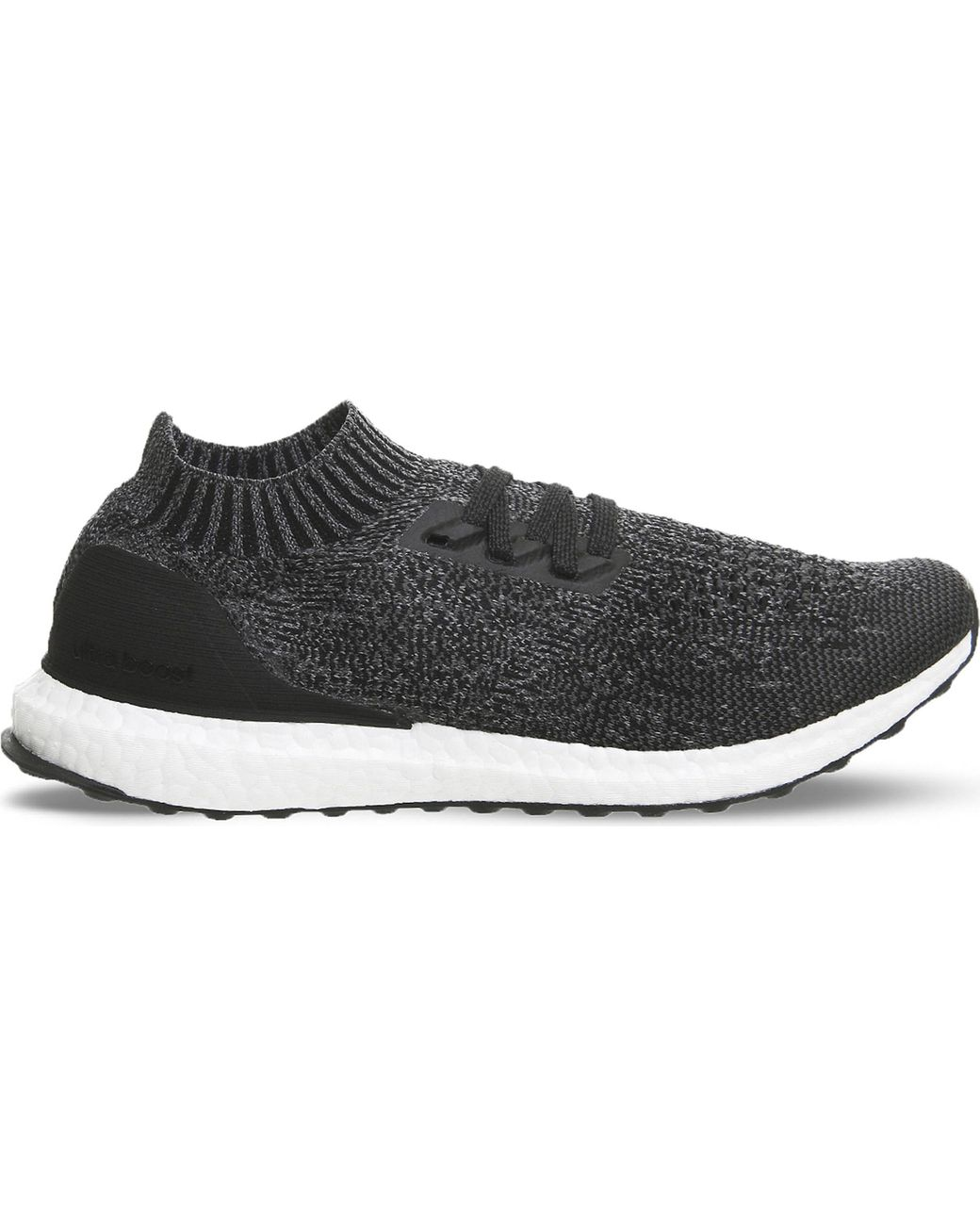 e149b28ff6f68 adidas Ultra Boost Uncaged Primeknit Trainers in Black for Men - Lyst