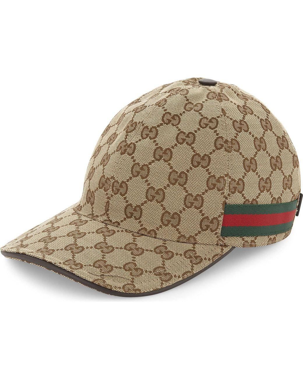 237a44b78fd Gucci Men s Original GG Baseball Hat in Brown for Men - Save 13% - Lyst