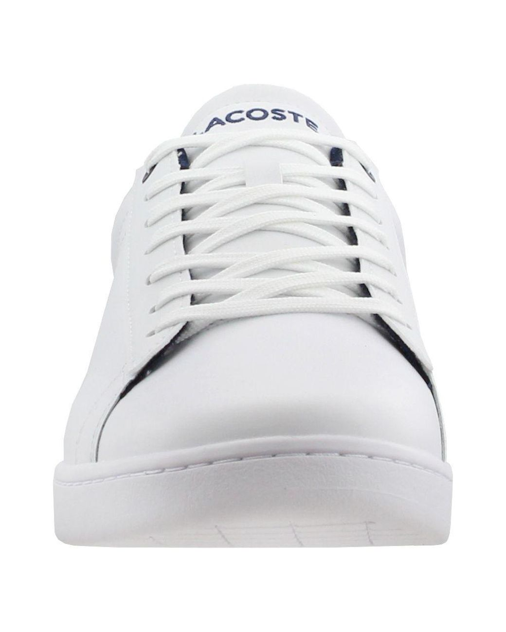 65f0742a7 Lyst - Lacoste Carnaby Evo 119 7 Shoes (trainers) in White for Men