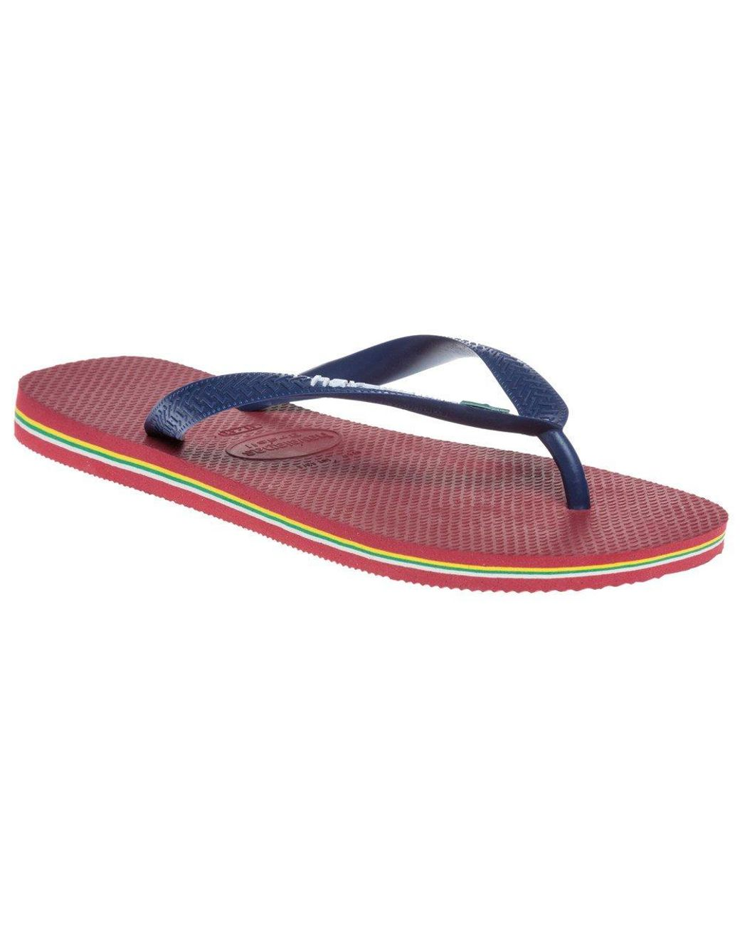 82cabf3a12c0 Havaianas Brasil Sandals in Blue for Men - Lyst