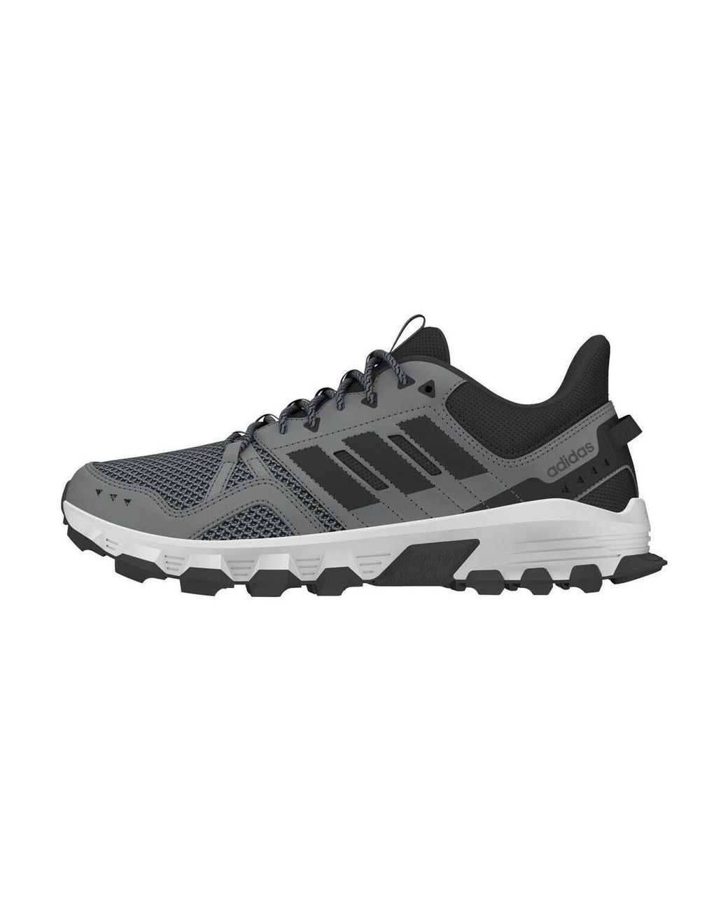 6e9b2177e Long-Touch to Zoom. Long-Touch to Zoom. 1  2  3. Adidas - Gray Rockadia  Trail Men s Running Trainers In Grey ...