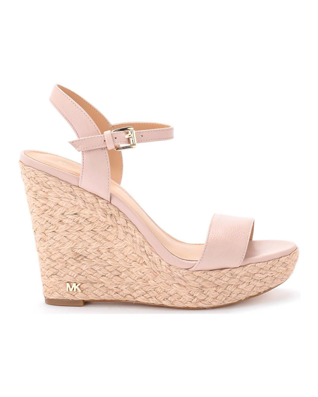 d2ba3286ab59 MICHAEL Michael Kors Jill Pale Pink Wedge Sandal Women s Sandals In ...