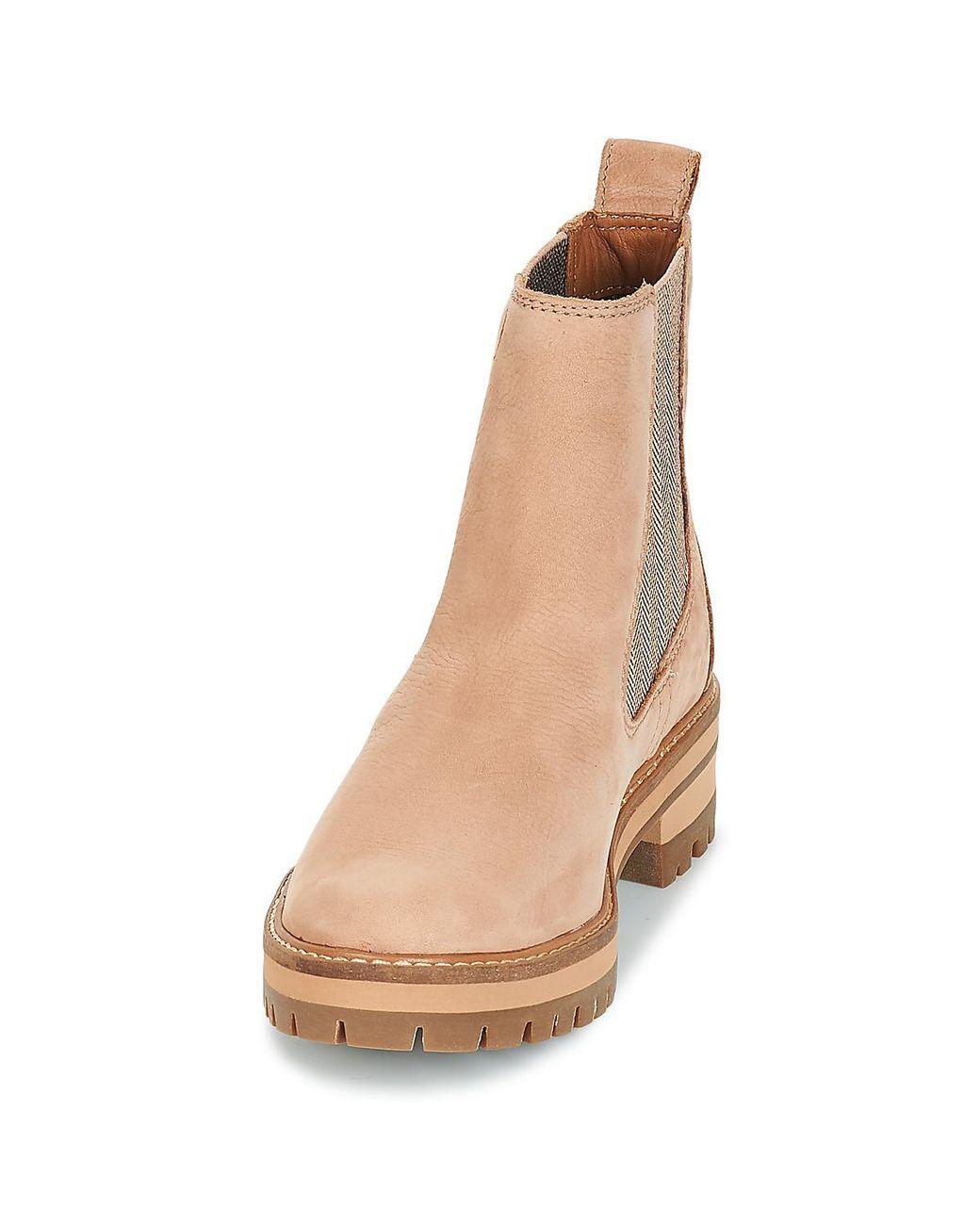 Courmayeur Valley Chelsea femmes Boots en rose