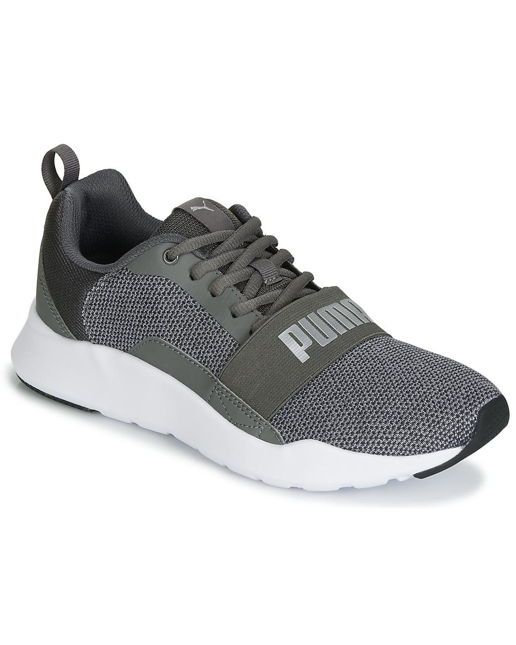 6e77234cac18 PUMA Jr Wired Knit.grey Women s Shoes (trainers) In Grey in Gray - Lyst