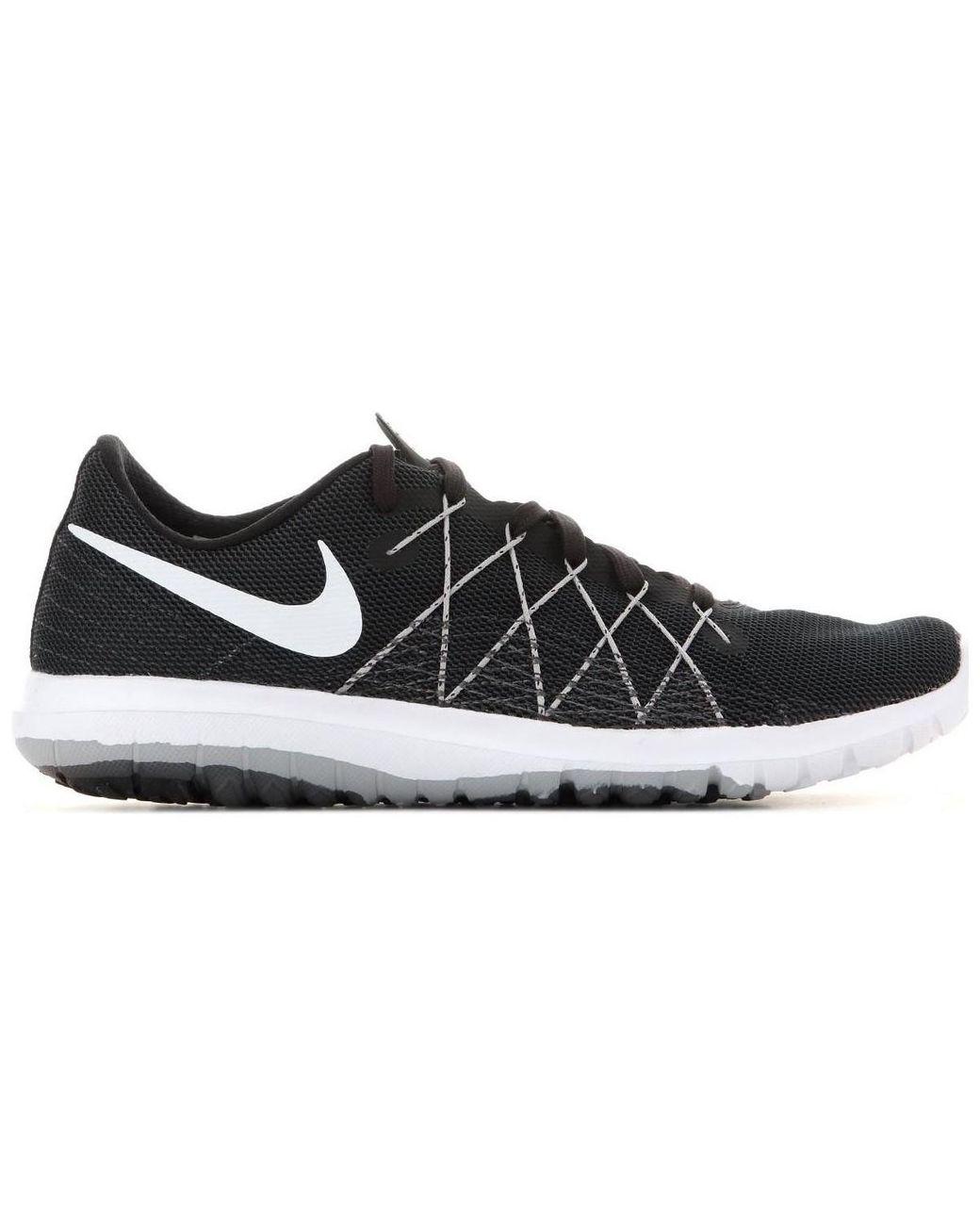 adc417fe2b2 Nike Wmns Flex Fury 2 819135-001 Women s Trainers In Black in Black ...