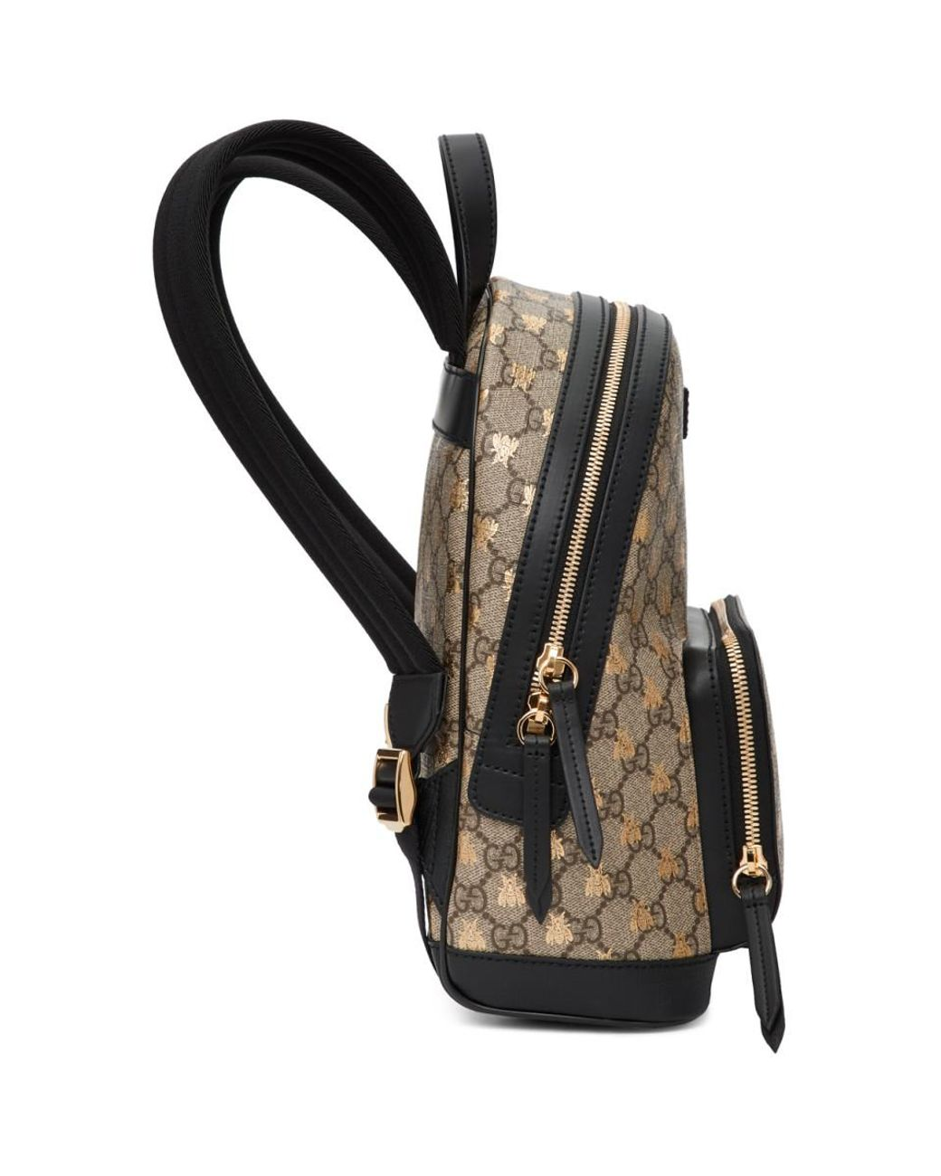 04bf80da470604 Gucci Beige GG Supreme Bestiary Backpack in Brown - Lyst