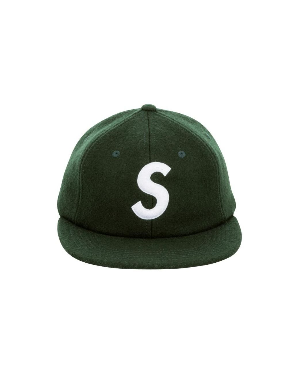 3cbbec6a4fb Lyst - Supreme S Logo 6-panel in Green
