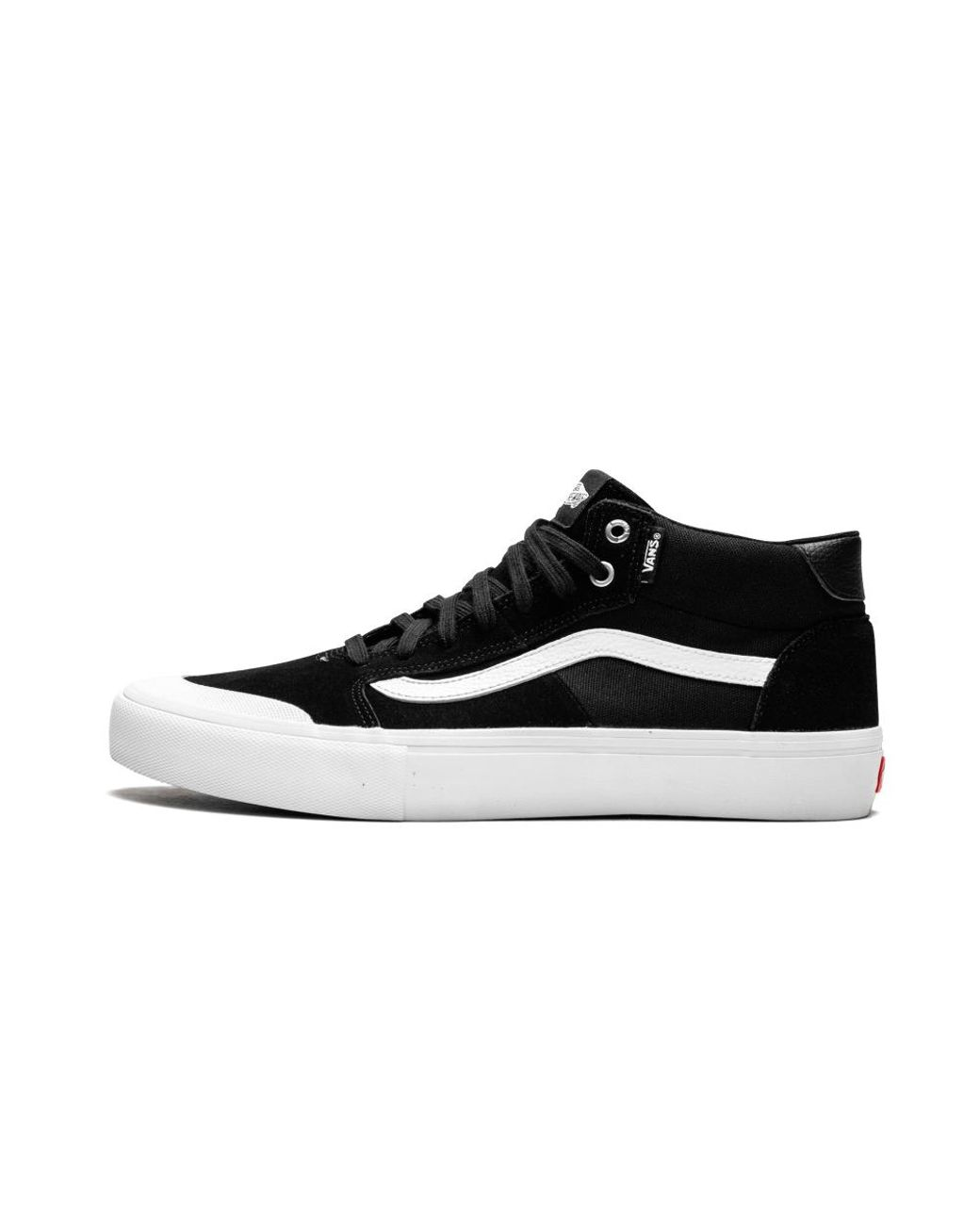 bad9ec50ed Long-Touch to Zoom. Vans - Black Style 112 Mid Pro for Men ...