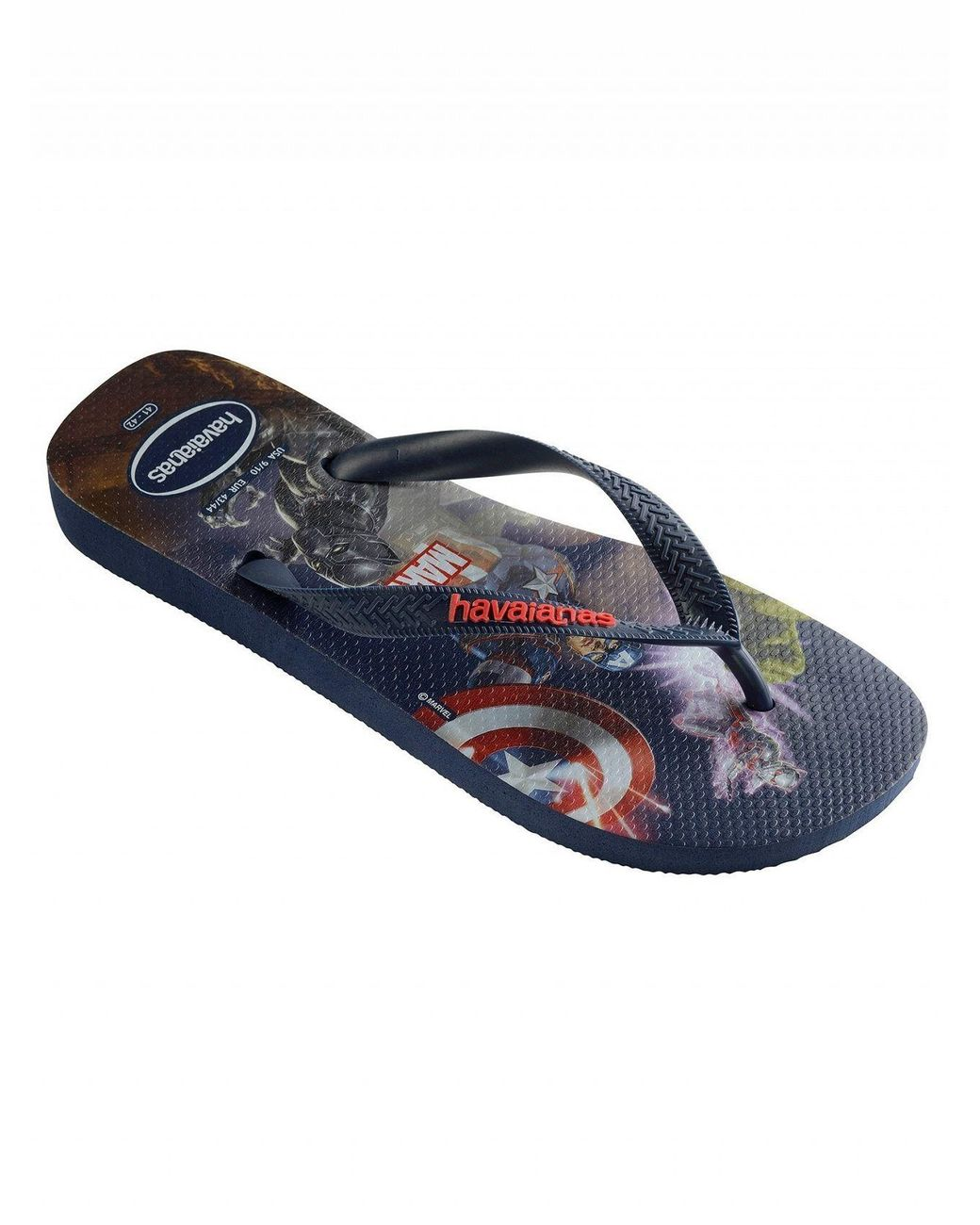 af8a5002b467 Long-Touch to Zoom. Long-Touch to Zoom. 1  2  3  4. Havaianas - Navy Blue  Top Marvel Flip Flops ...
