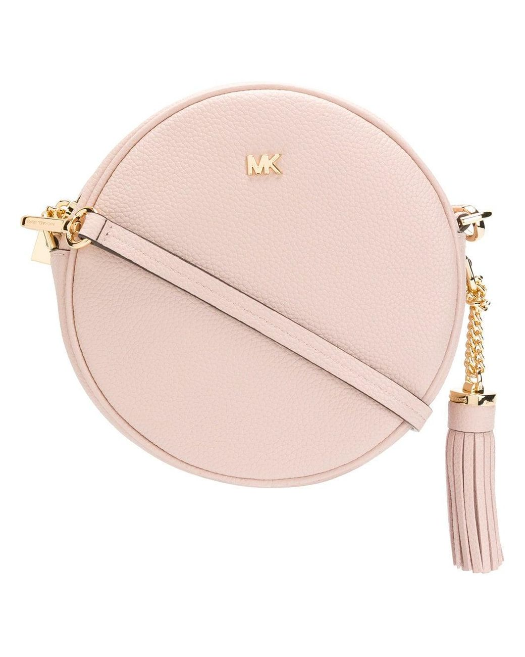 4f6c7b0c1e1b MICHAEL Michael Kors Mercer Medium Cross-body Bag in Pink - Save 5 ...